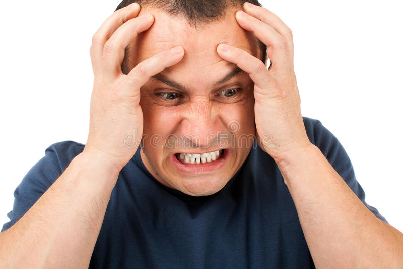 Download Extremely Angry Man Stock Images - Image: 25319944