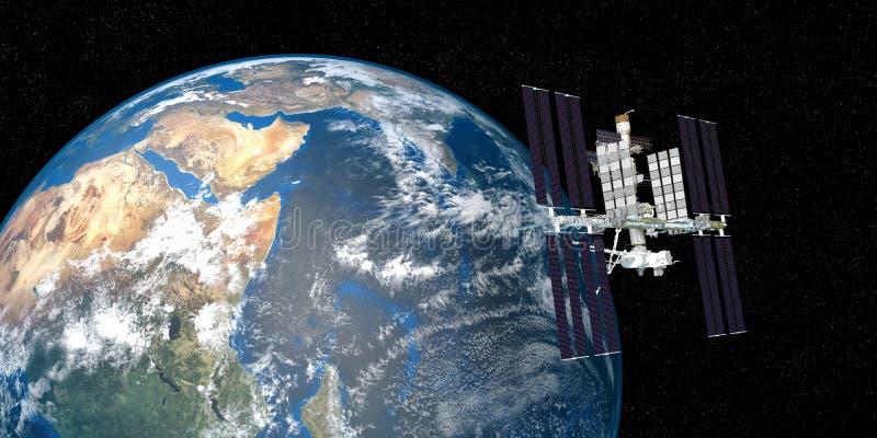 astronaut orbiting space station - photo #5
