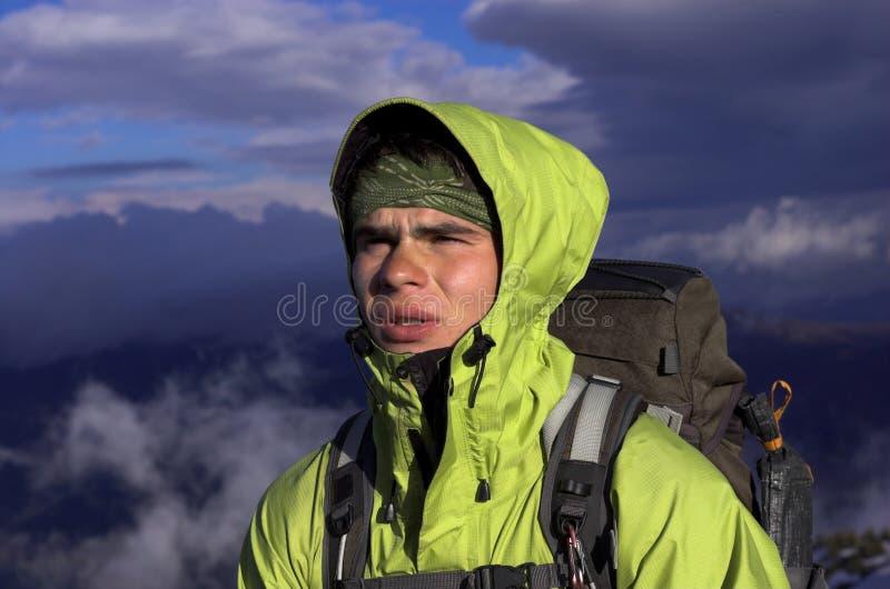 Extremer Mann stockfotos