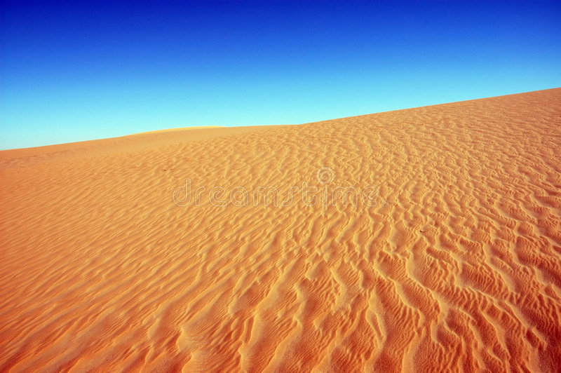 Extremer Sand stockfoto