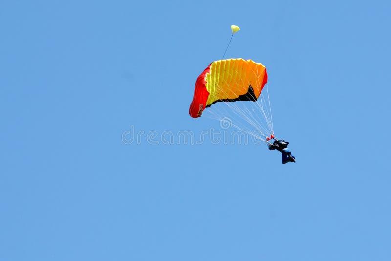 Extremer Sport. Fallschirmspringen lizenzfreies stockbild