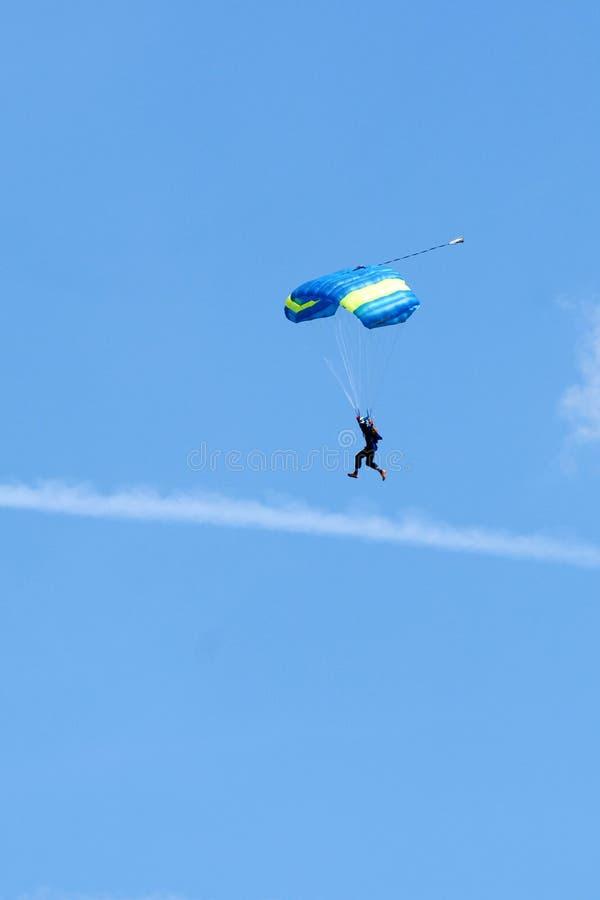 Extremer Sport. Fallschirmspringen lizenzfreies stockfoto