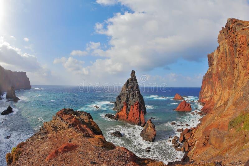 Extremidad Easternmost de Madeira fotos de archivo libres de regalías