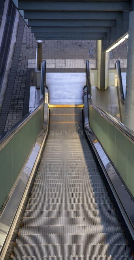 A extremidade de um elevador fotografia de stock