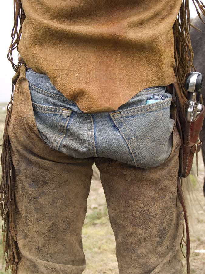 Extremidade do cowboy foto de stock royalty free