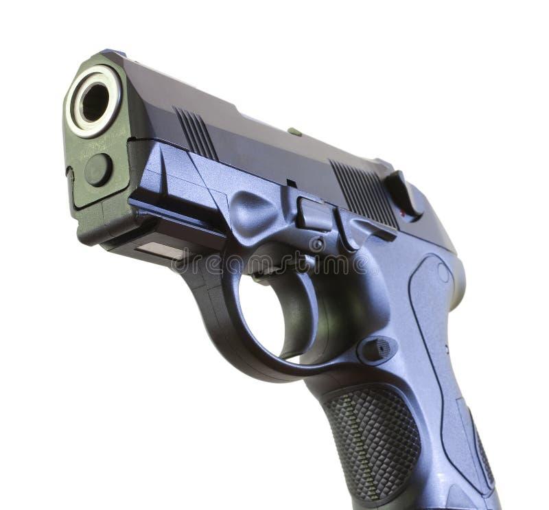 Extremidade do negócio de um revólver fotografia de stock
