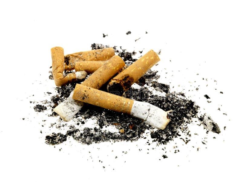 Extremidades de cigarro fotografia de stock royalty free