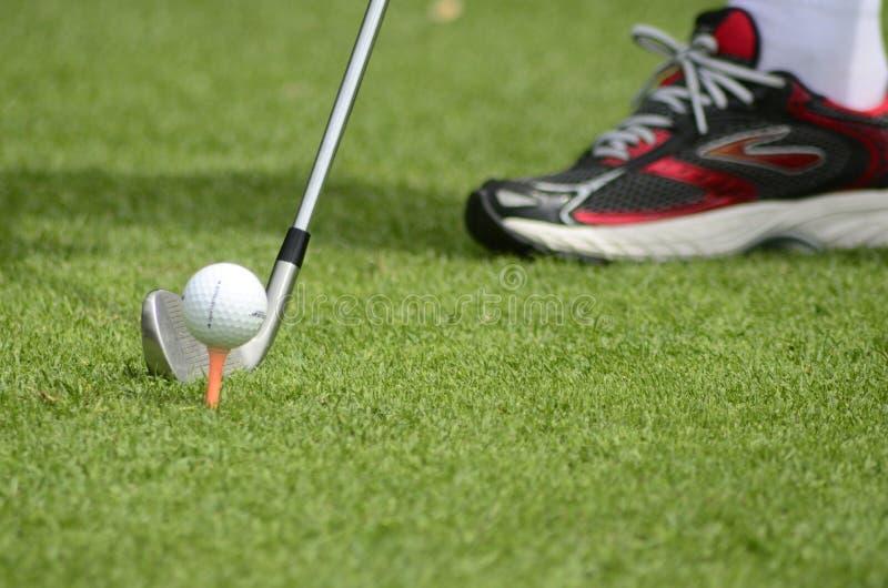 Extremidades del golf imágenes de archivo libres de regalías