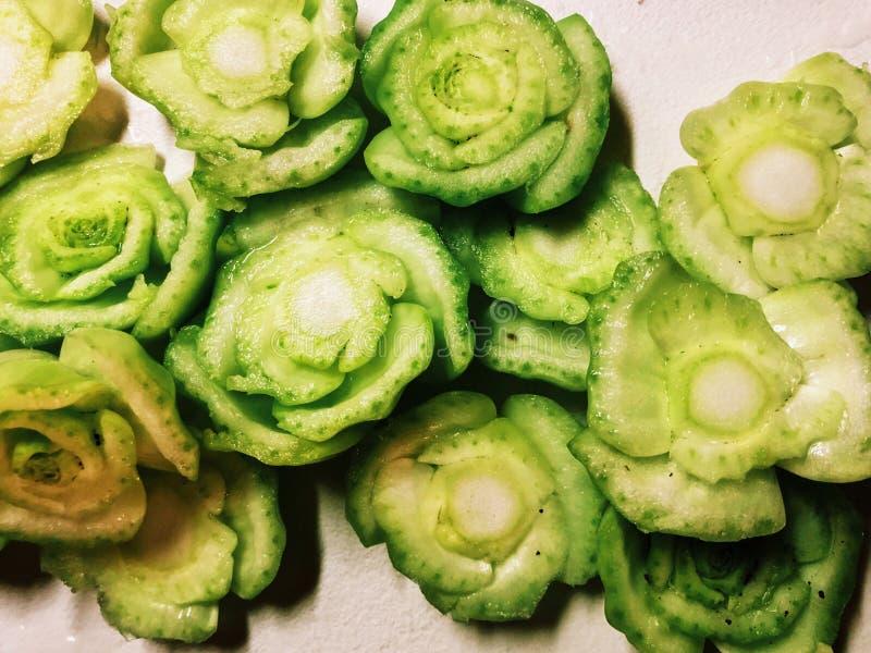 Extremidades vegetais choy do bok verde fresco fotografia de stock