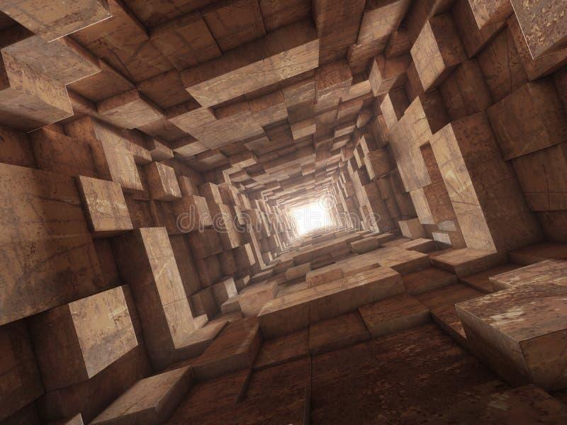 Extremo del túnel libre illustration
