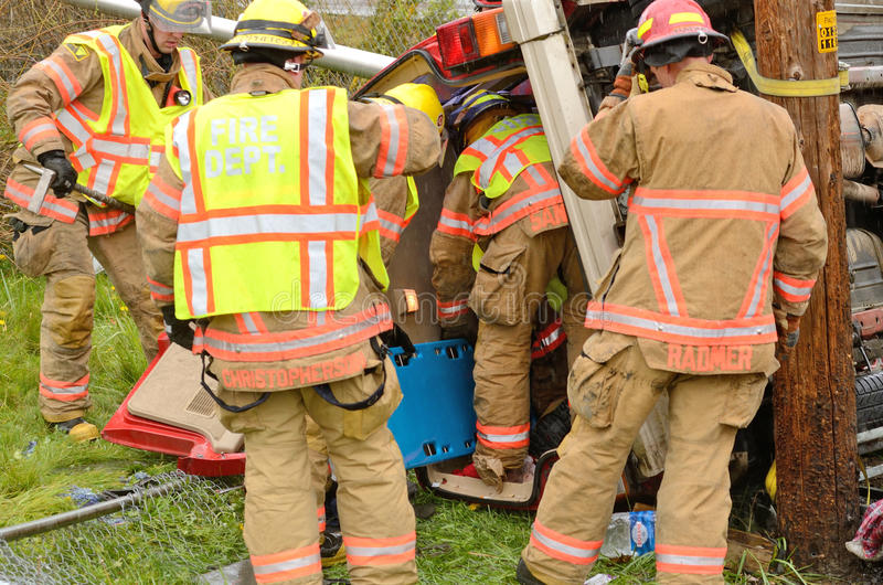 Download Extrication editorial photo. Image of vehicle, fireman - 43164526