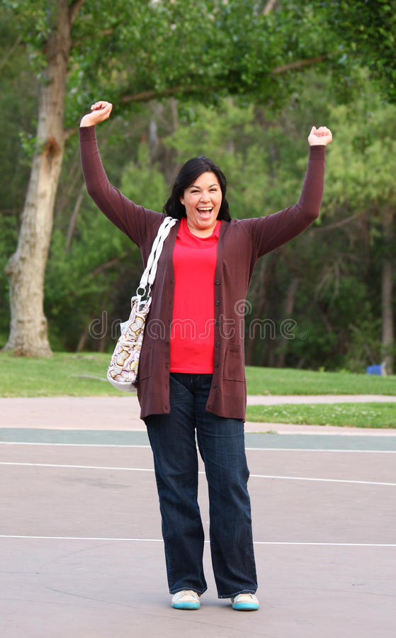 Download Exuberant, excited woman stock photo. Image of mother - 9421698