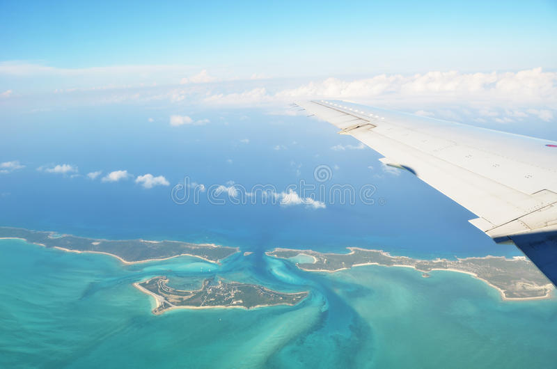 Exuma Cays bah arkivfoto