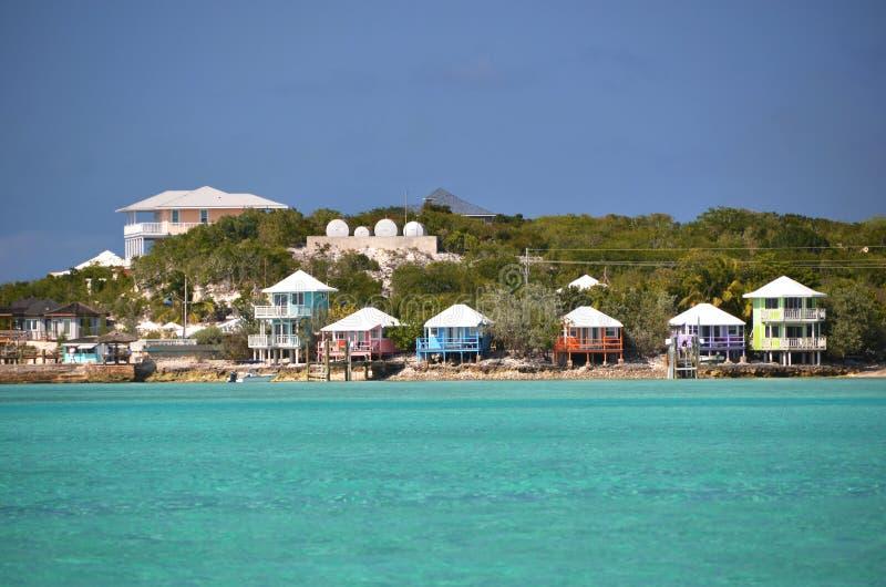 Exumas,巴哈马 免版税图库摄影