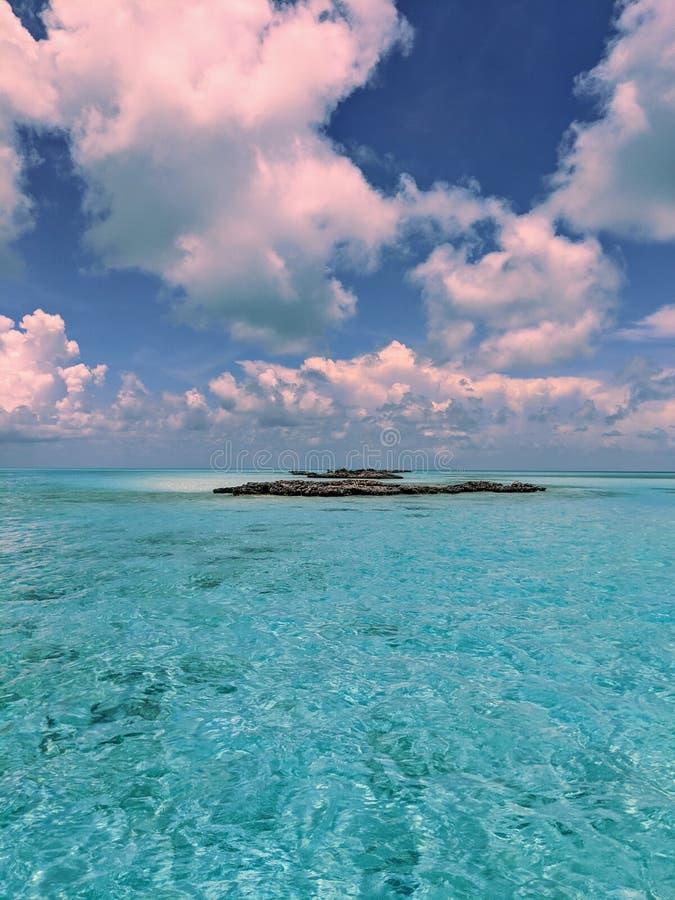 Exumas Bahamas seascape royalty free stock photography
