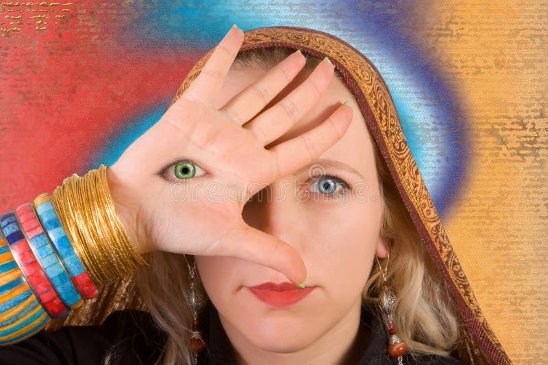 eye в-третьих стоковые фото