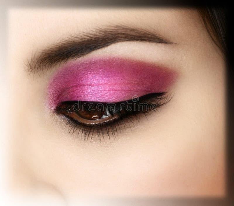 Download Eye stock photo. Image of make, lash, fashion, pink, smooth - 10581018
