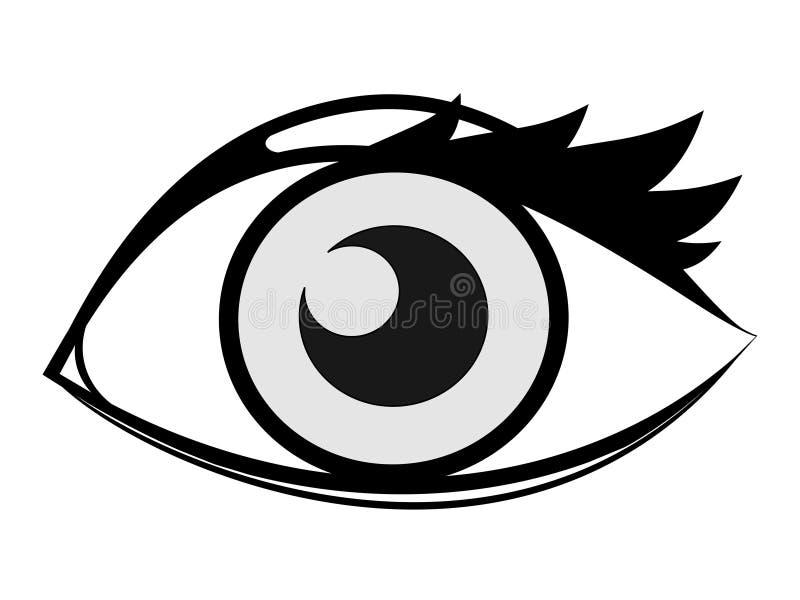 Download Eye stock illustration. Image of female, artistic, macro - 4457424