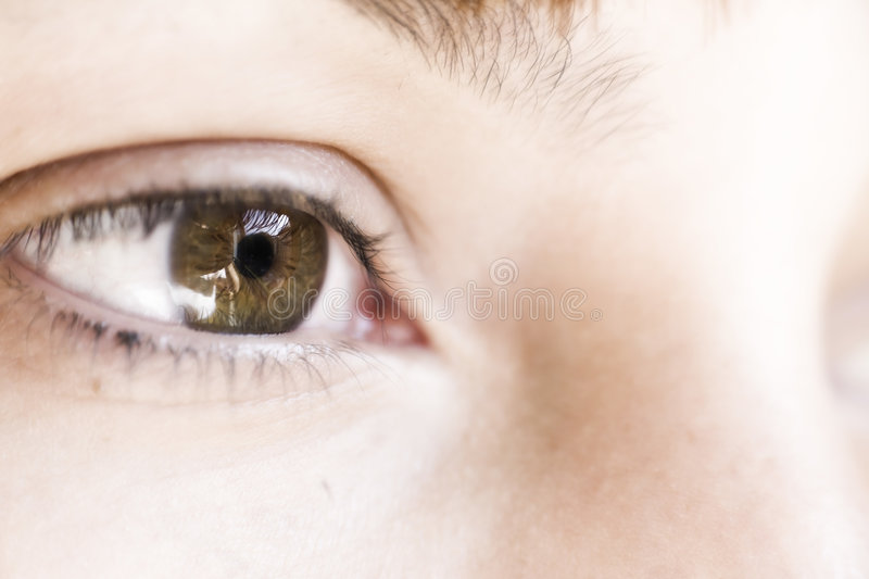 Download Eye stock photo. Image of detail, conceptual, female, color - 6543948