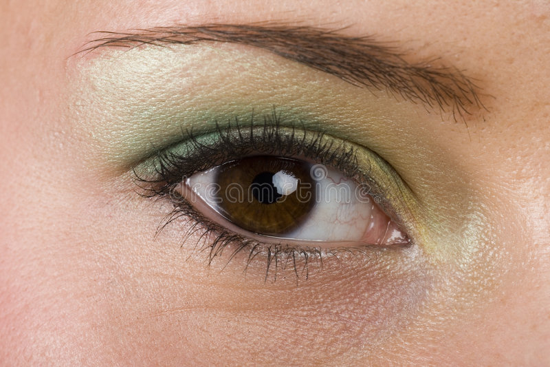 Download Eye stock photo. Image of model, laugh, girl, beautifull - 681962