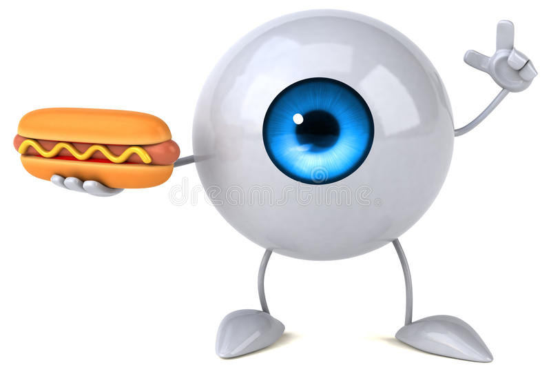 Eye royalty free illustration