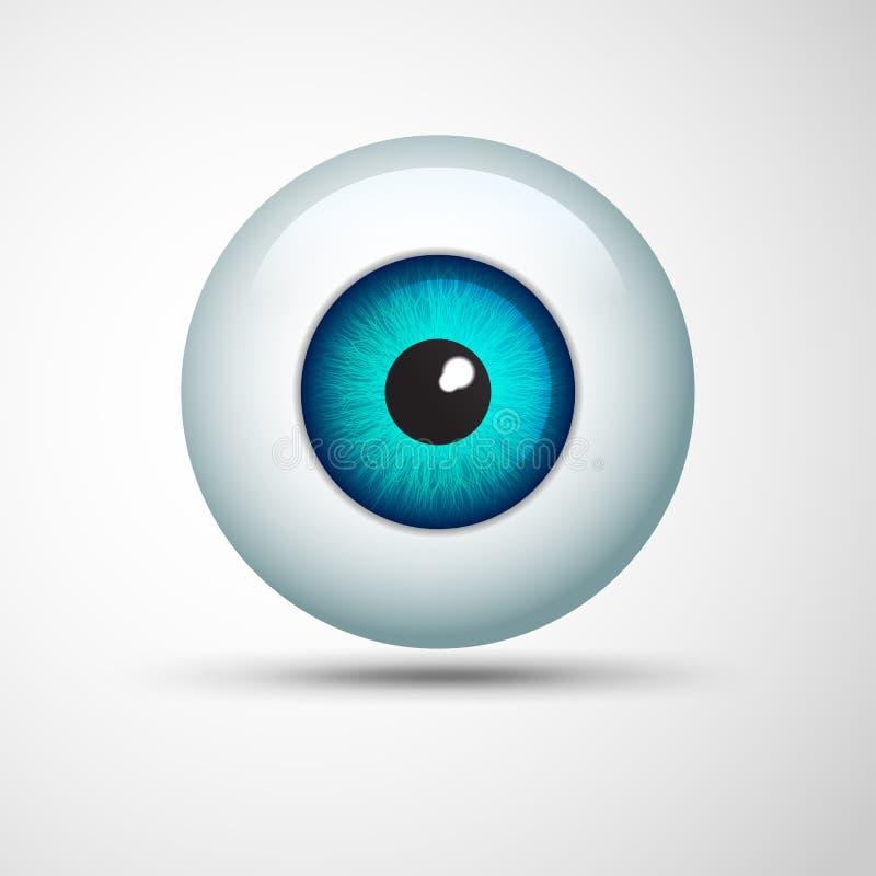 Eye Ball vector illustration