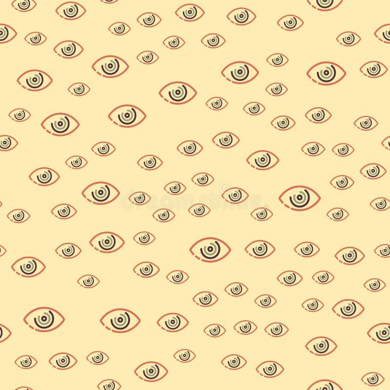 Free Eye Blinker Seamless Pattern Vision Daylight Glimmer Template Keeker Light Peeper Company Vector Illustration Royalty Free Stock Image - 95091046
