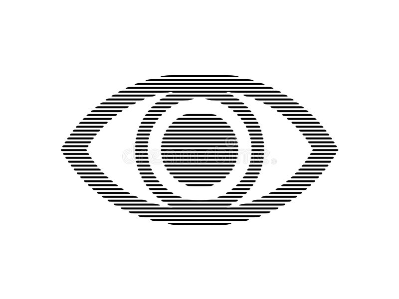Download EYE bw stock illustration. Illustration of vision, staring - 531285