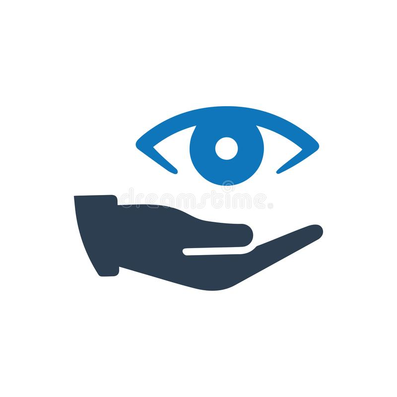 Eye Care Icon. Beautiful Meticulously Designed Eye Care Icon vector illustration