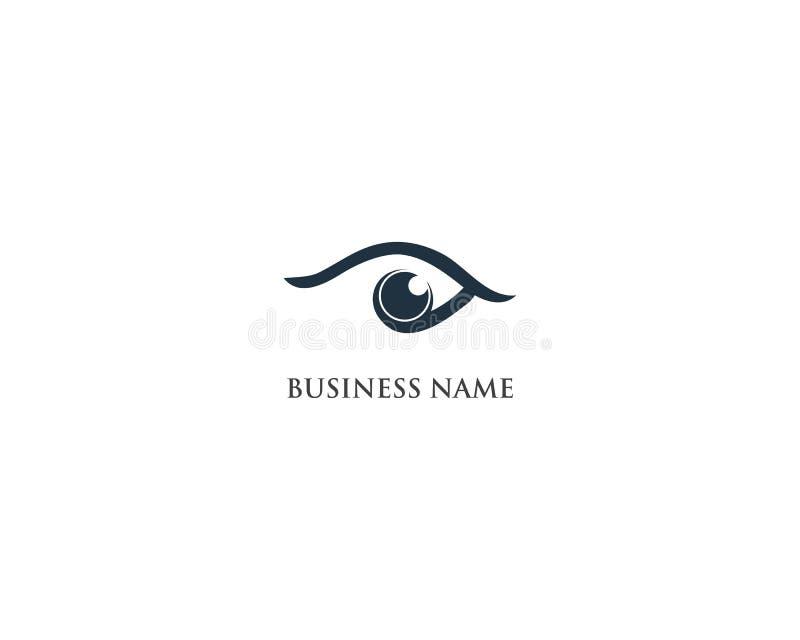 Eye care logo and symbol icon app. Eye care logo and symbol icon app royalty free illustration