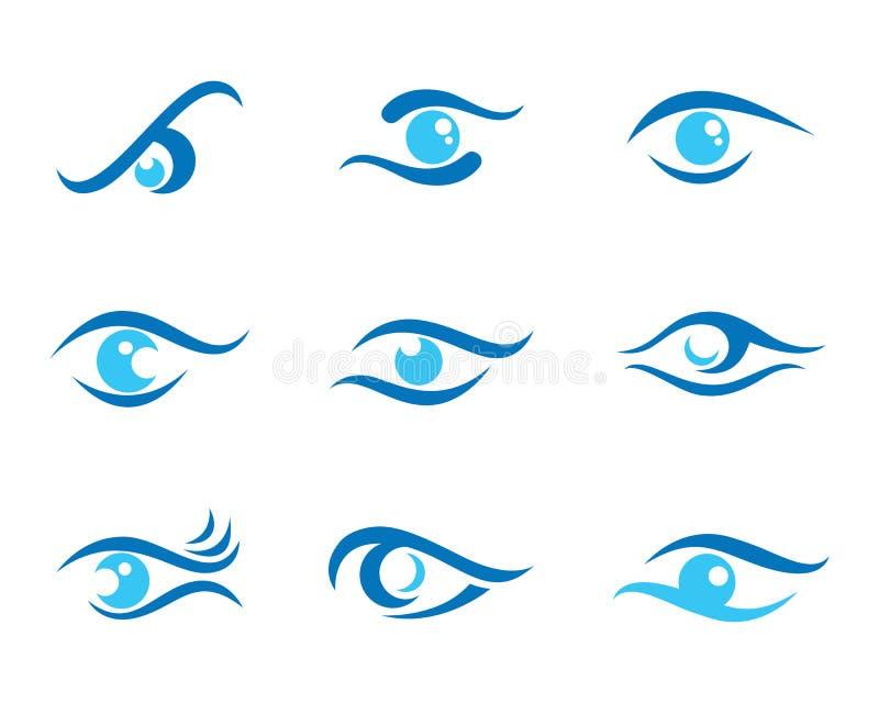 Eye care Logo Template. Vector icon vector illustration