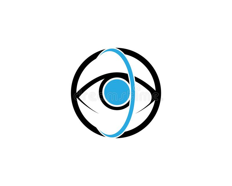 Eye Care vector logo design. Branding Identity Corporate Eye Care vector logo design, vision, network, isolated, document, see, eco, view, business, wellness vector illustration