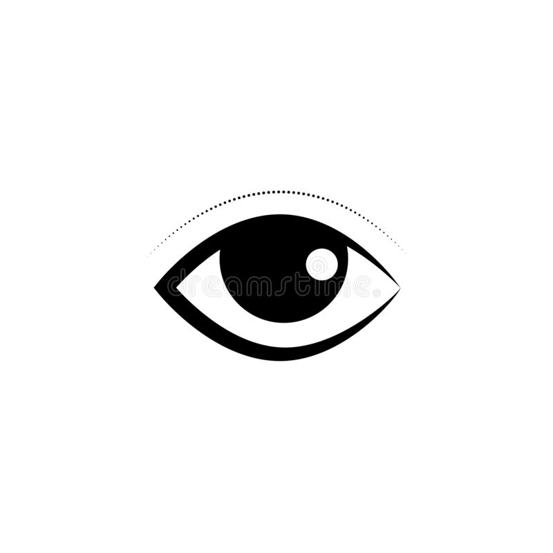 Eye Care vector logo design. Branding Identity Corporate Eye Care vector logo design vision network isolated document see eco view business wellness concept stock illustration