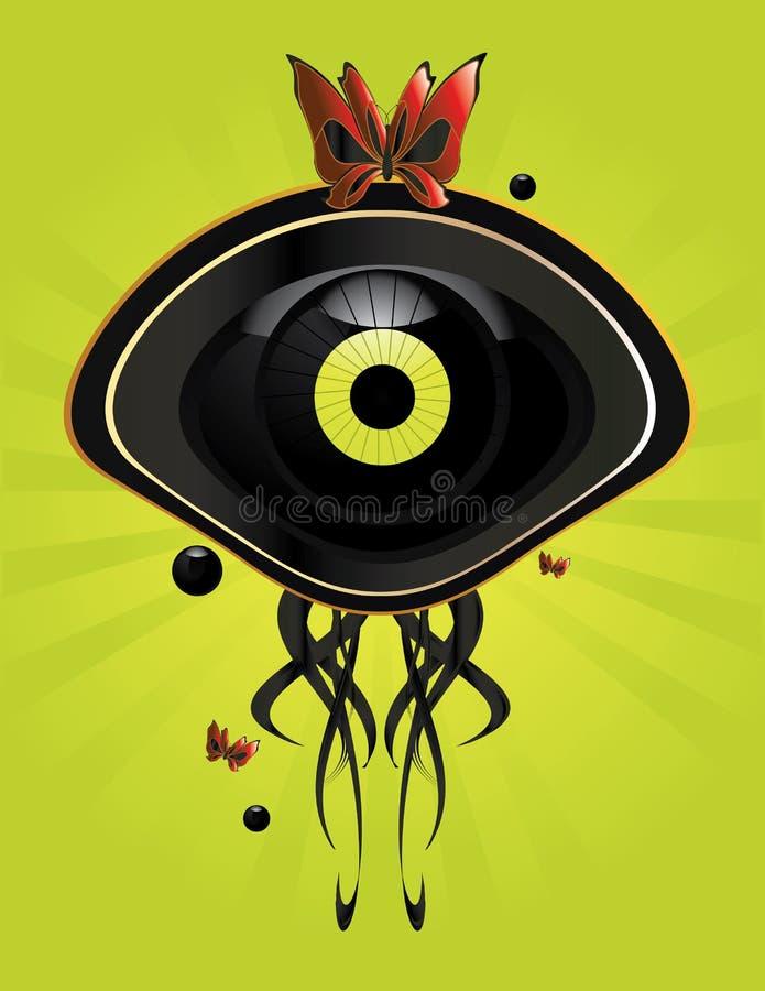 Eye character image 7 vector illustration