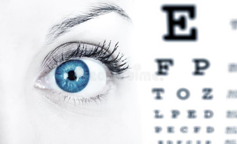 Eye Chart royalty free stock image