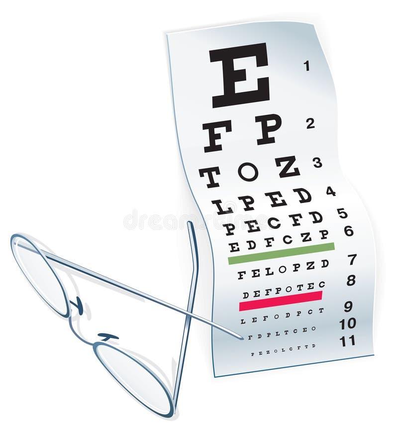 Download Eye Chart stock vector. Image of healthy, contacts, myopia - 26544806