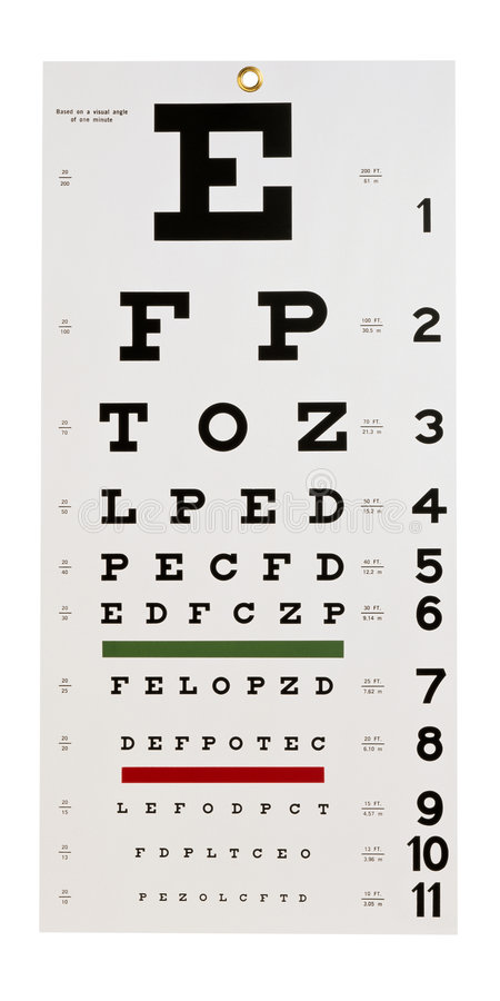 Download Eye chart stock image. Image of lenses, contours, healthcare - 2933855