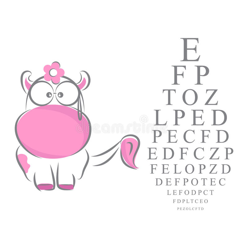 Download Eye Chart For Children Royalty Free Stock Image - Image: 19268016