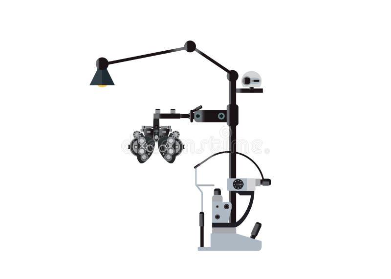 Eye Checking Machine stock photography