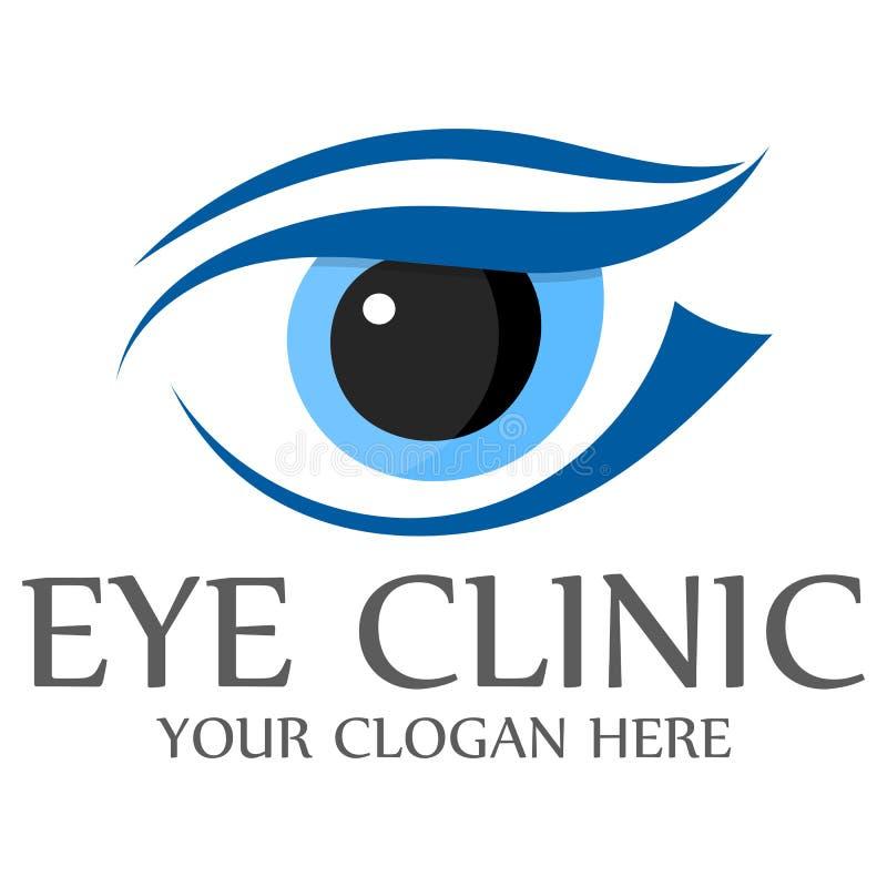 Abstract Eye Shape Logo _eps Stock Vector