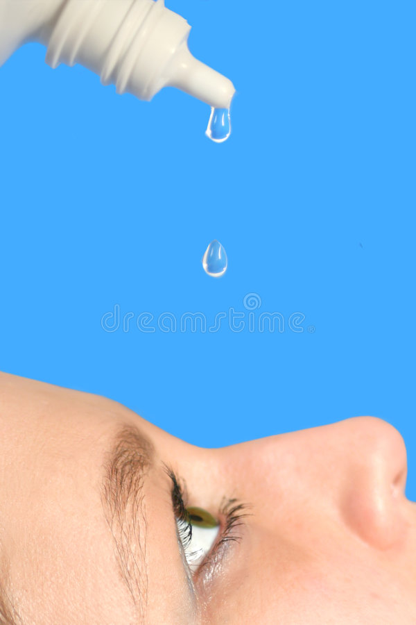 Eye Drops Royalty Free Stock Image