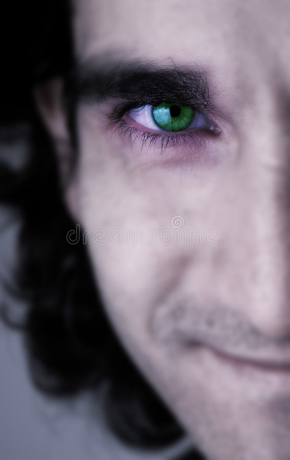 Download Eye framsidagreen arkivfoto. Bild av sexigt, näsa, hår, gott - 30580