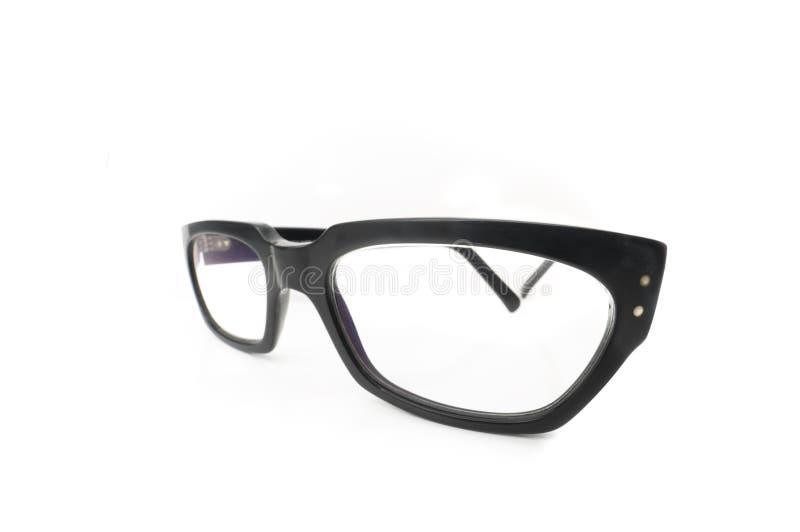 Eye glasses. Isolated on white background stock photo