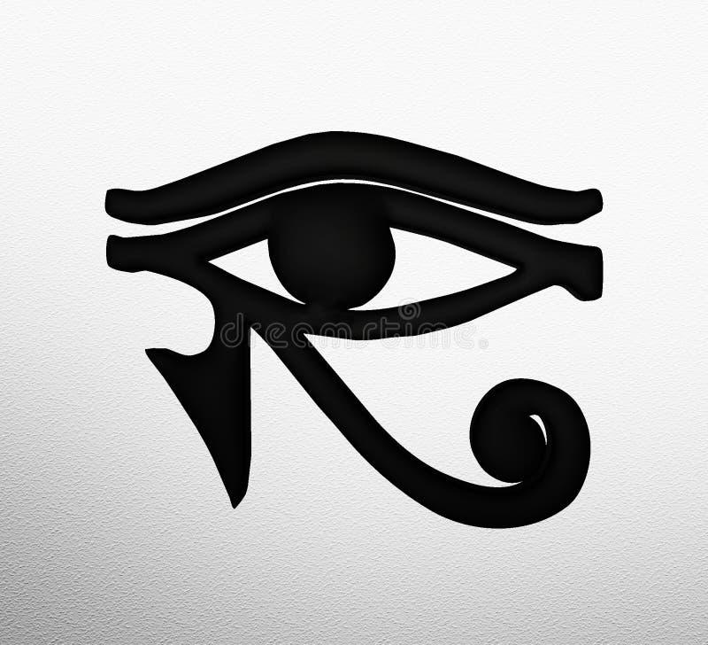 Eye Of Horus Egyptian Symbol Stock Illustration Illustration Of