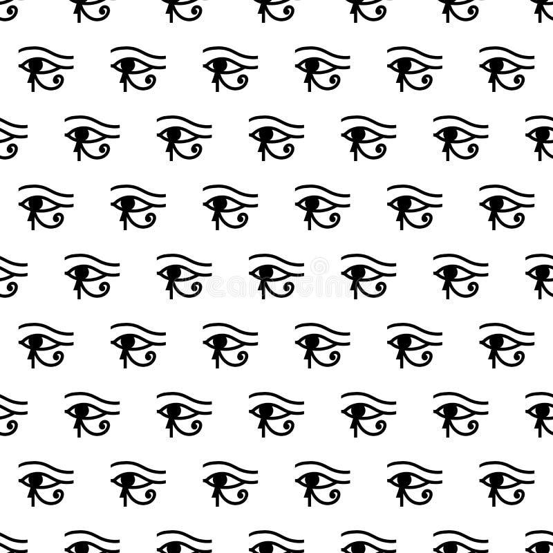 Download Eye Of Horus Seamless Pattern Stock Vector