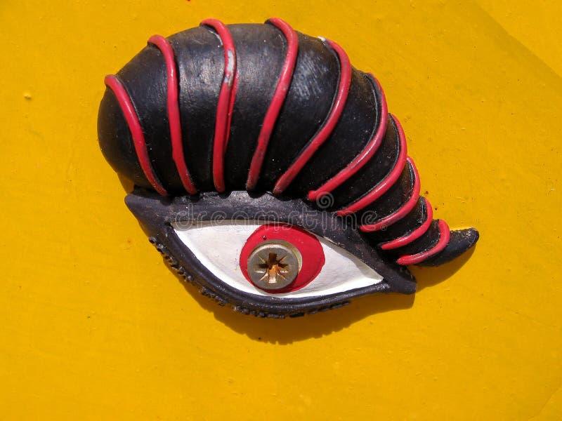 eye horusen royaltyfri fotografi