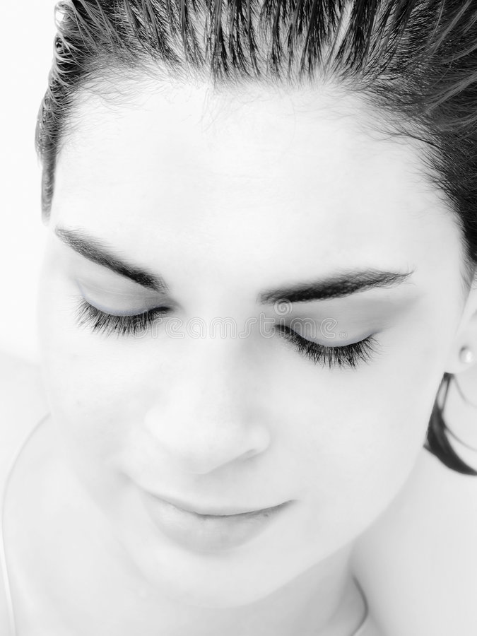 Eye-lashes stock images