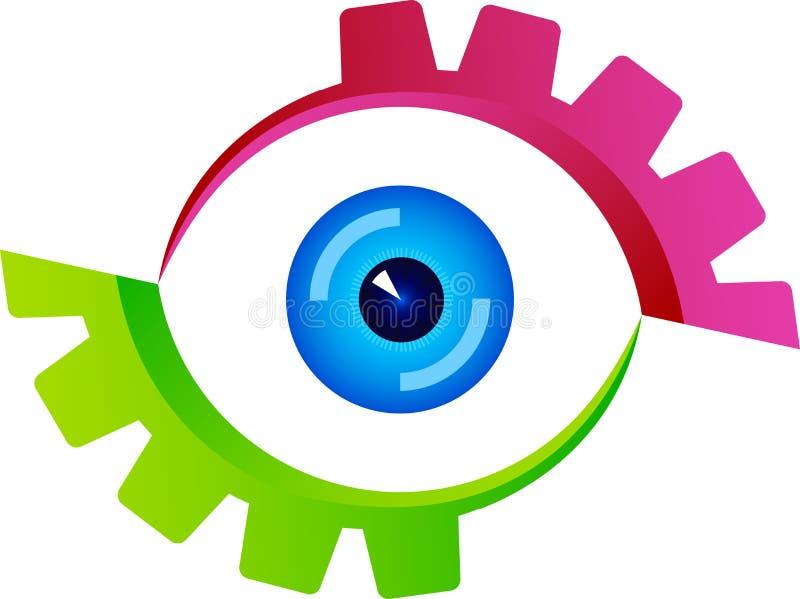Eye logo vector illustration