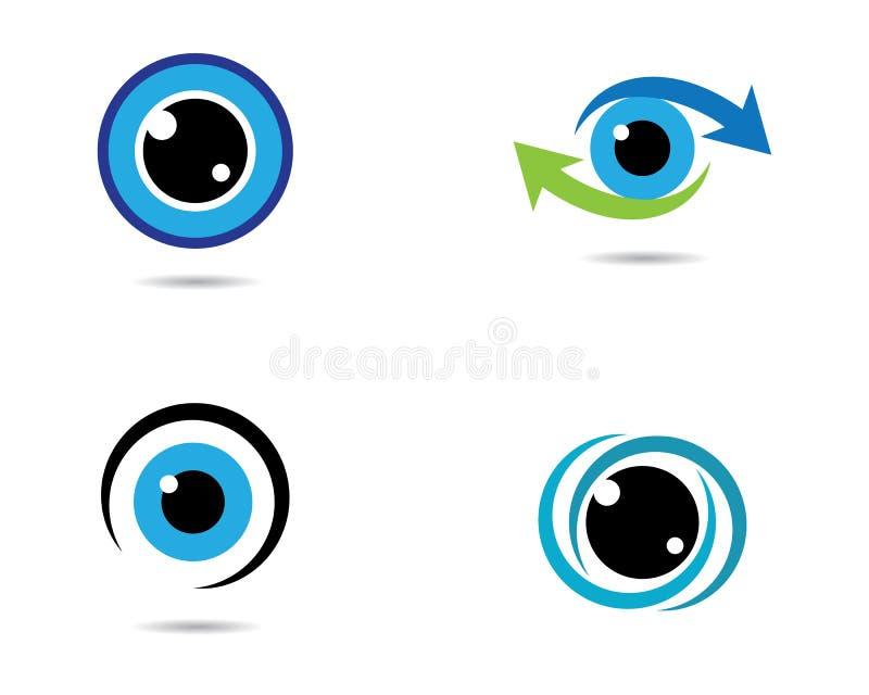 Eye vector icon vector illustration