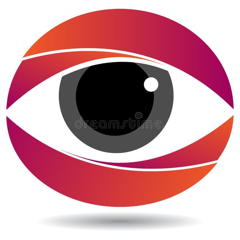 Eye logo royalty free illustration